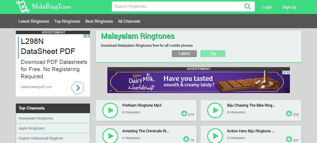 latest ringtones free download english
